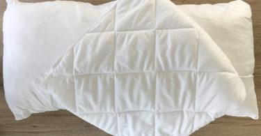 orthopädisches Nackenstützkissen von Schlafmeister im Test