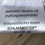 orthopädisches Nackenstützkissen viskoseelastisches Kissen von Schlafmeister